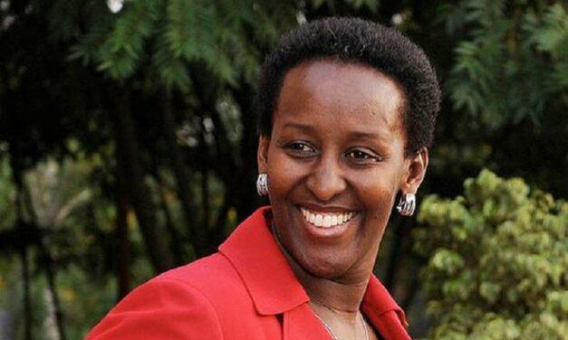 JEANNETTE KAGAME, NOMMEE CO-PRESIDENTE DU CONSEIL CONSULTATIF AFRICAIN DE UGHE