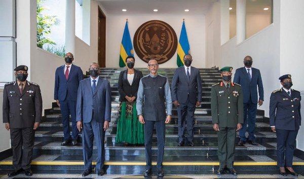 Cinq nouveaux responsables ont prêté serment devant le Chef de l'Etat