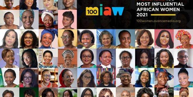 CINQ PERSONNALITES RWANDAISES PARMI LES 100 FEMMES LES PLUS INFLUENTES D'AFRIQUE 2021