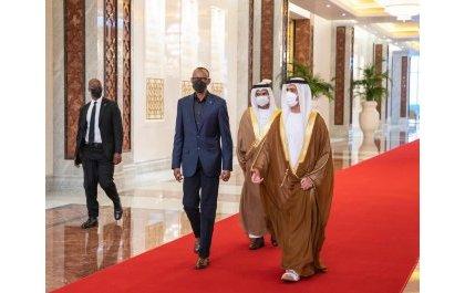 Perezida Kagame yageze Abu Dhabi